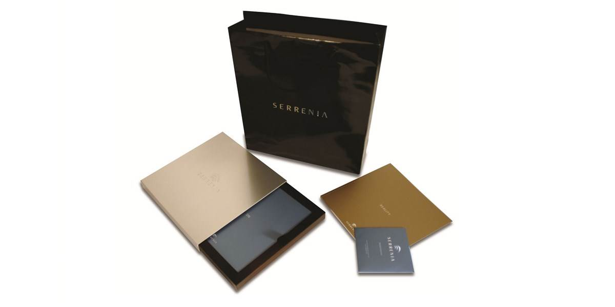 Serrenia branded marketing materials
