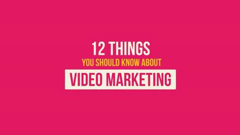 Video Marketing 12 Things to know