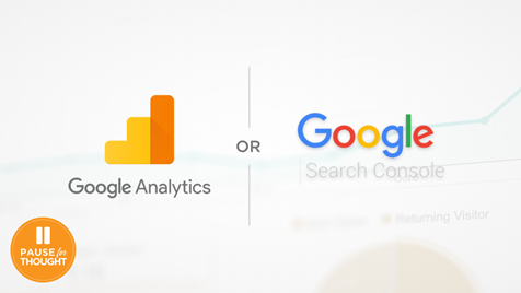 Our Thoughts Page Icon - Google Analytics and Search Console Differences
