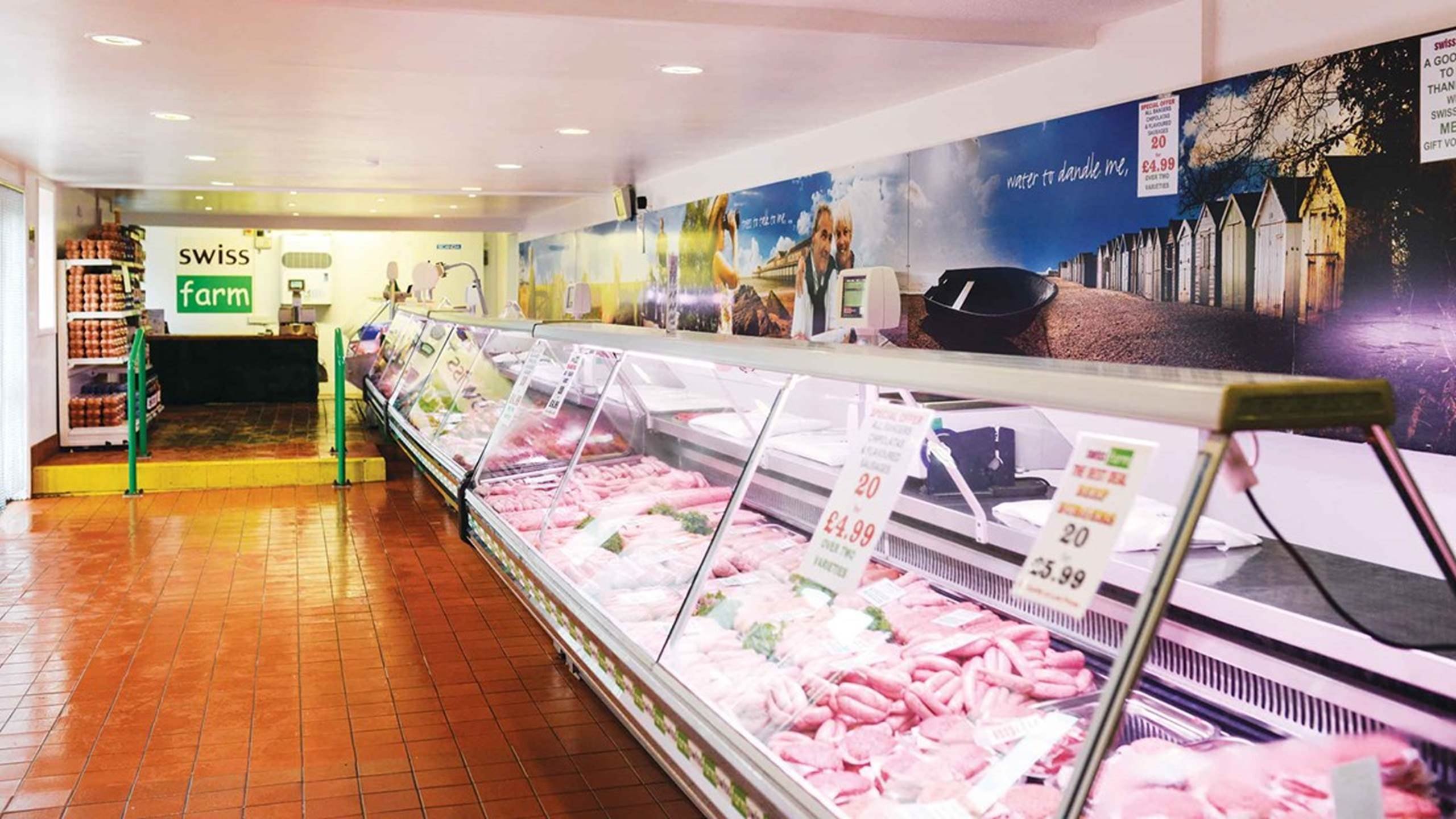 Swiss Farm Butchers Interior